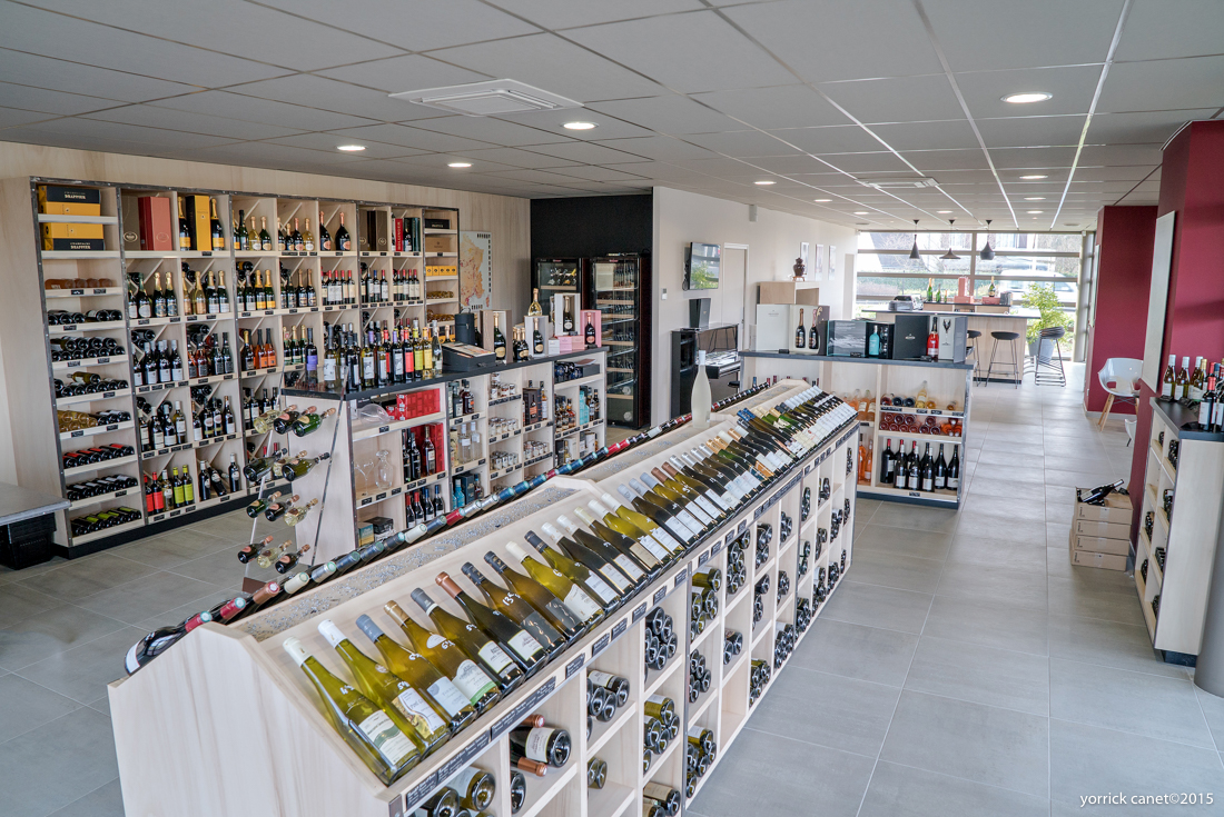 Boutique vin à tours