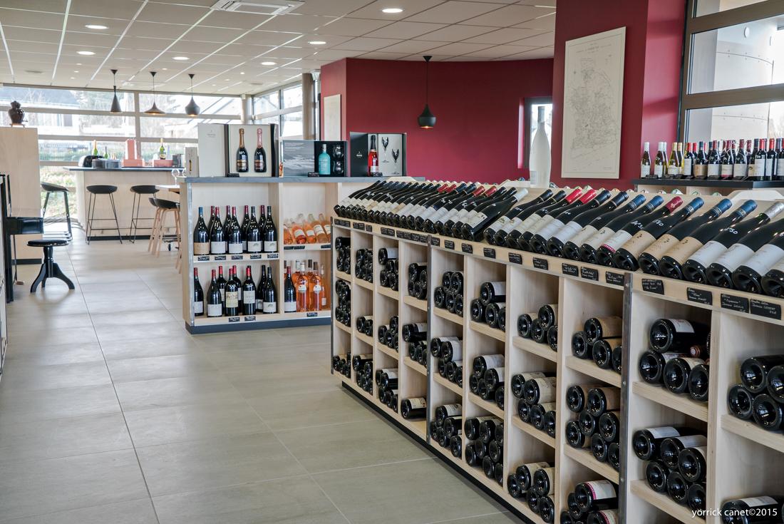 Boutique de vins decoration
