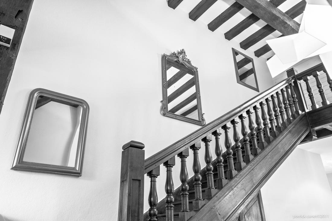 escalier interieur architecte chartres