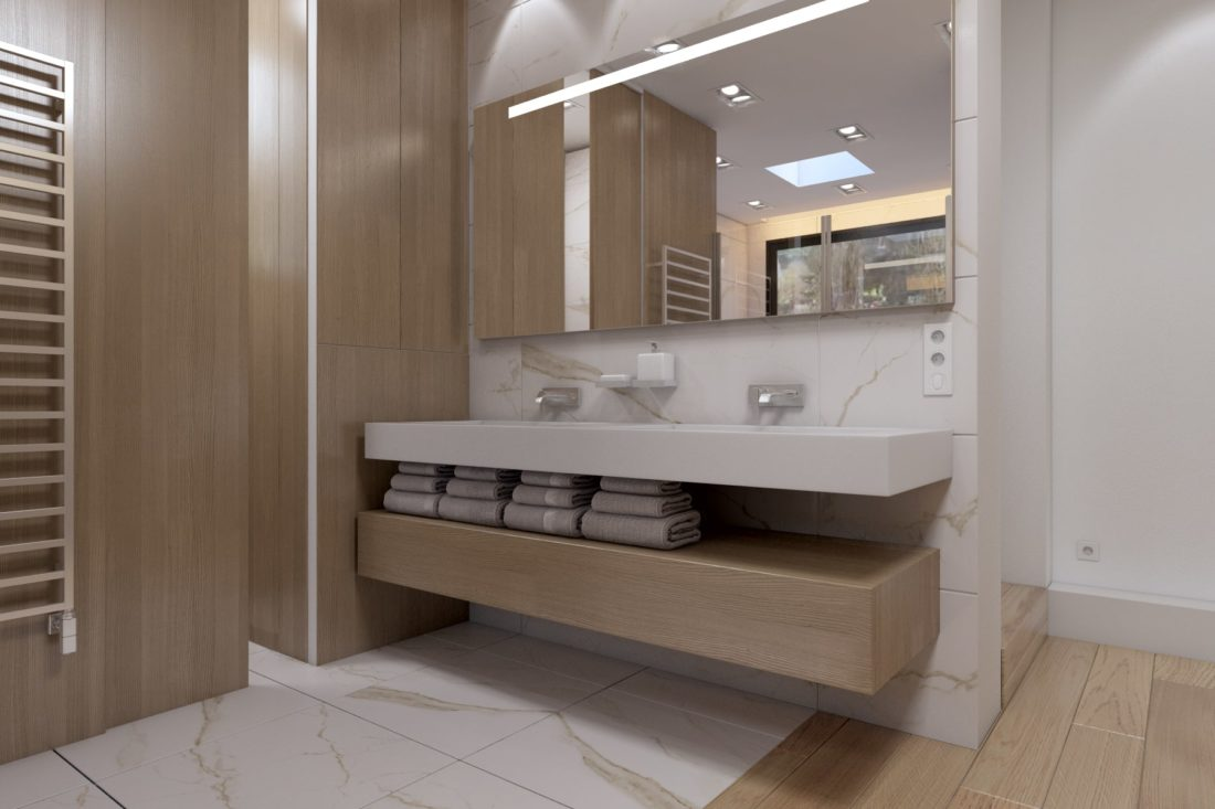 Rendu 3D - meube salle de bain