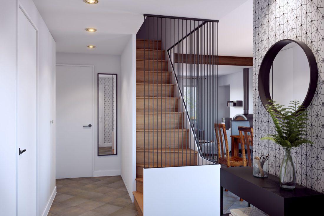 escalier decoration intérieur