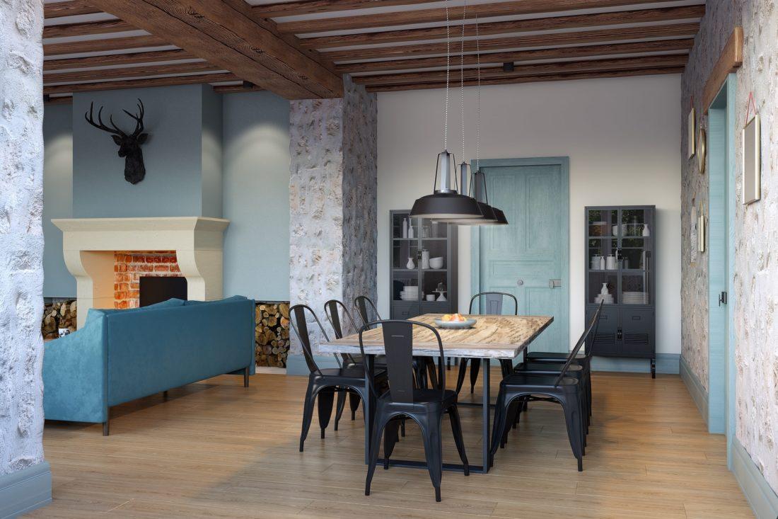 salle à manger architecte interieur