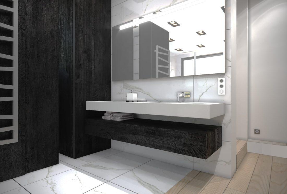 rendu 3D - salle de bain